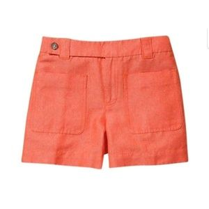 Anthro Daughters of the Liberation Orange Shorts 8